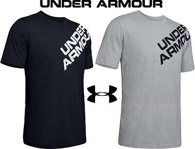 Under Armour Mens Wordmark Lock up Short Sleeve