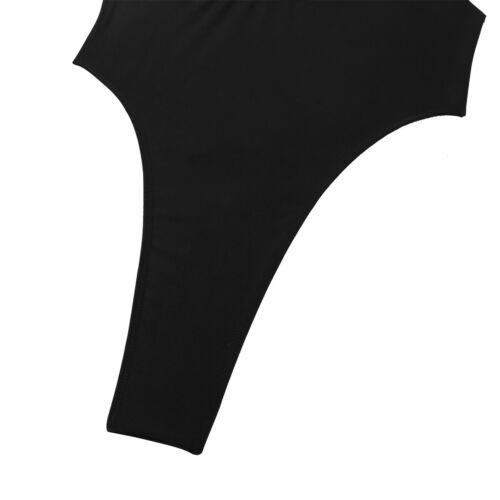 Women Sleeveless Bodysuit Open Bust Lingerie Leotard Babydoll Nightwear Clubwear