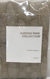 NIP Hudson Park Collection Interlock Standard Pillowsham White