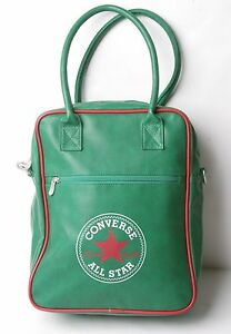 3aa8aad004fb Image is loading Converse-Small-Pocketed-Reporter-Bag-Green