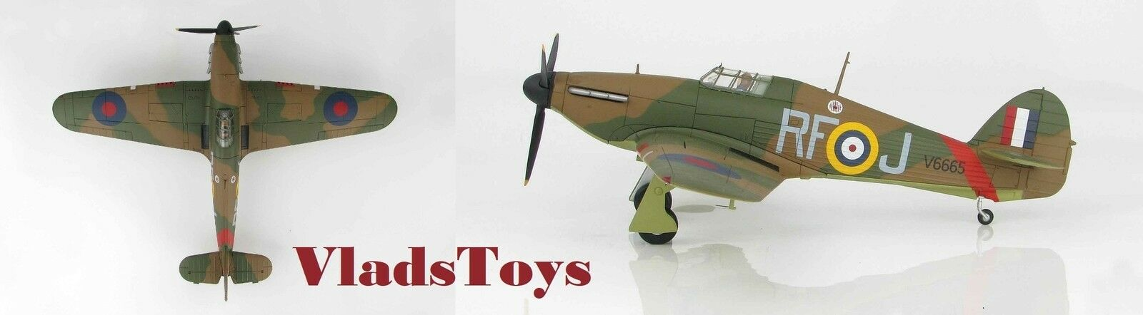 Hobby Master 1:48 Hawker Hurricane Mk I No.303 RAF polaco Sqn V6665 Kent HA8609