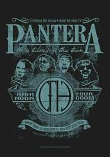 """PANTERA FLAGGE / FAHNE """"HIGH NOON YOUR DOOM"""" POSTERFLAGGE POSTER FLAG"""