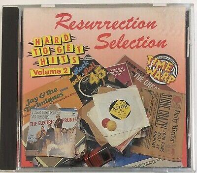 Resurrection Selection Hard To Get Hits Volume 2 Rare Cd