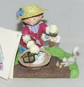 Image Is Loading GARDEN PALS National Home Gardening Club Figurine PATTY