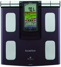 Omron KARADA Scan Body Composition Monitor Digital Scale HBF-373 HBF373 Black