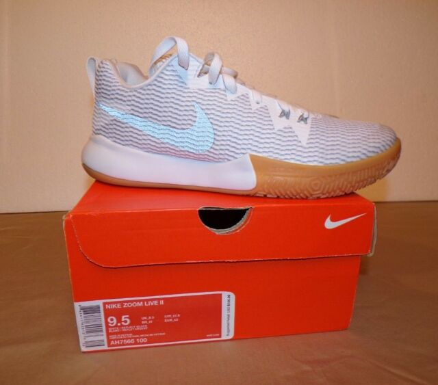 cc033711abd Nike Zoom Live II Men s Basketball Shoes Size 9.5 AH7566 100 for ...