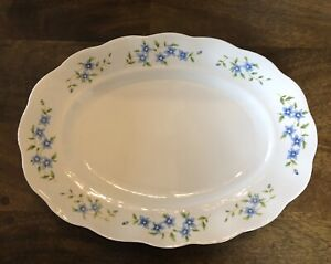"""Favolina Maria Platter From Poland Measuring 13.75"""" X 10"""".  Outstanding!"""