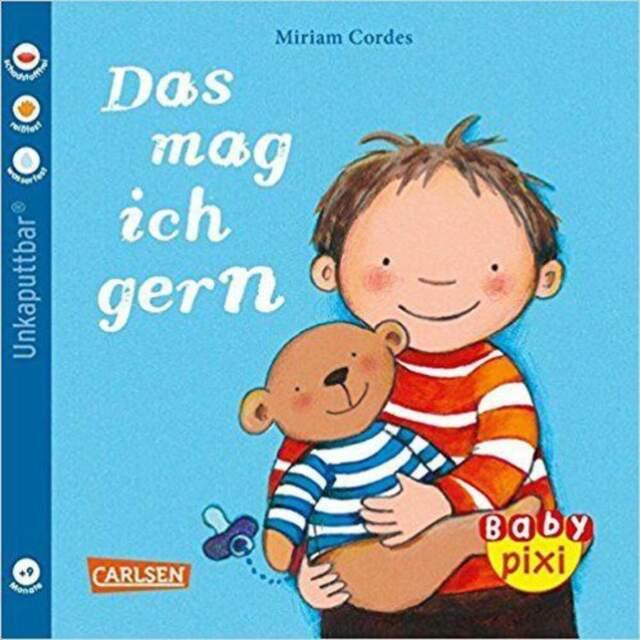 Carlsen Verlag Baby Pixi 41 Das mag ich gern