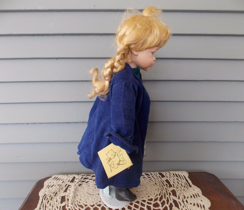 Vintage Bisque Porcelain Doll The Broadway Collection Collection Collection 16
