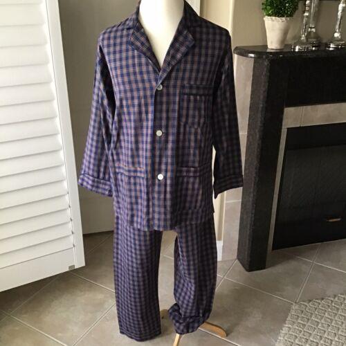 Vintage Christian Dior Mens Pajama Set MEDIUM Draw