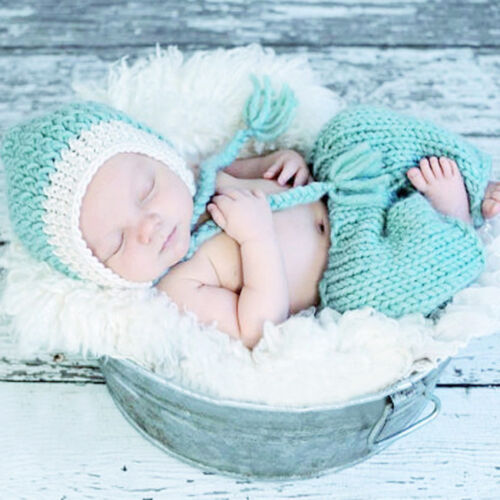 Hot !Newborn Baby Girls Boys Crochet Knit Costume Photo Photography Prop Outfits