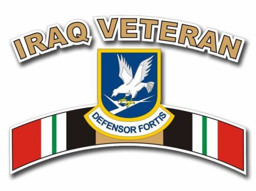 """Defensor Fortis Iraq Veteran Tab 5/"""" Sticker /'Officially Licensed/'"""