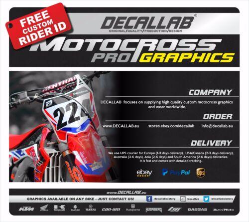 HONDA CRF 250 450 2013 2014 2015 2016 2017 Supercross Graphics Decals Stickers