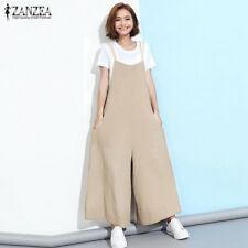 f47c0da5575b item 1 Oversized Women Dungaree Loose Plain Wide Leg Bib Pants Jumpsuit  Overalls Romper -Oversized Women Dungaree Loose Plain Wide Leg Bib Pants  Jumpsuit ...