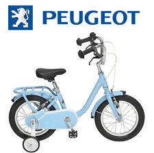 "Velo 14"" enfant PEUGEOT Legend stabilisateur Bleu retro vintage NEUF child bike"