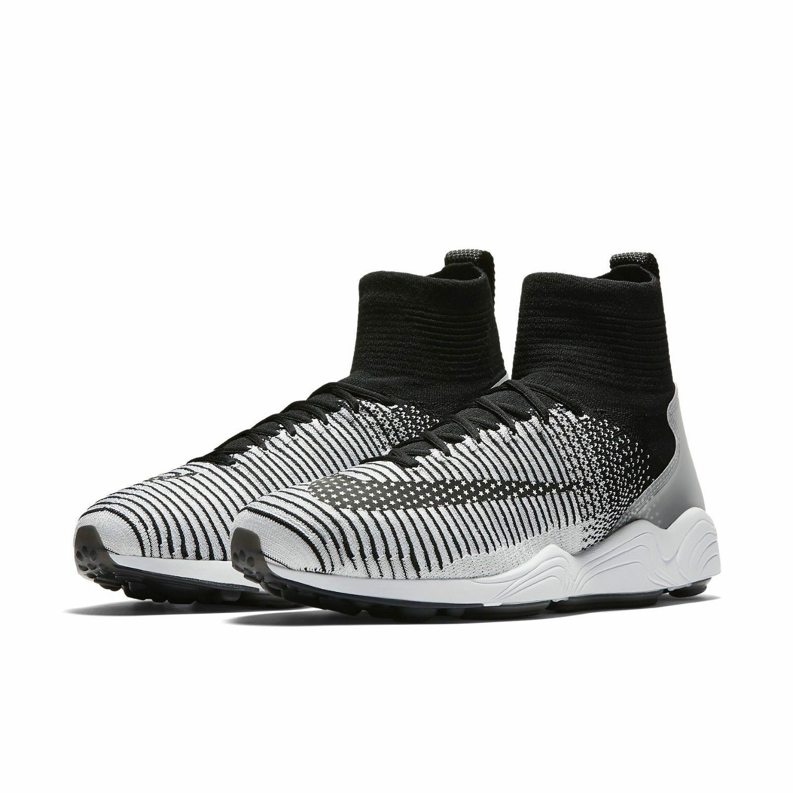 Nike Men's Zoom Mercurial XI FK FC Casual shoes NEW Black White size 9.5  220