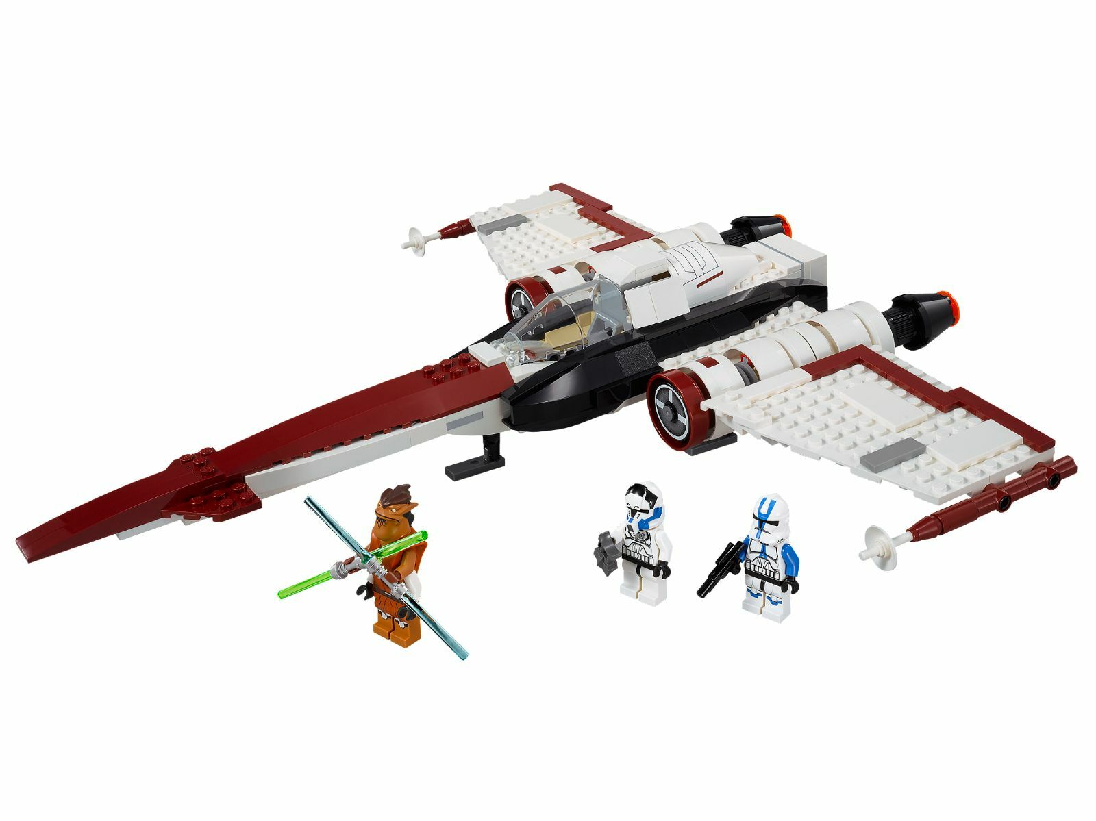 Lego 75004 Star Wars Z-95 Headhunter complet 100 % + notice + boite box de 2013