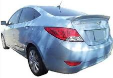 UN-Painted - GREY PRIMER  for Hyundai Accent 4dr 2012-2017 New  Rear Spoiler