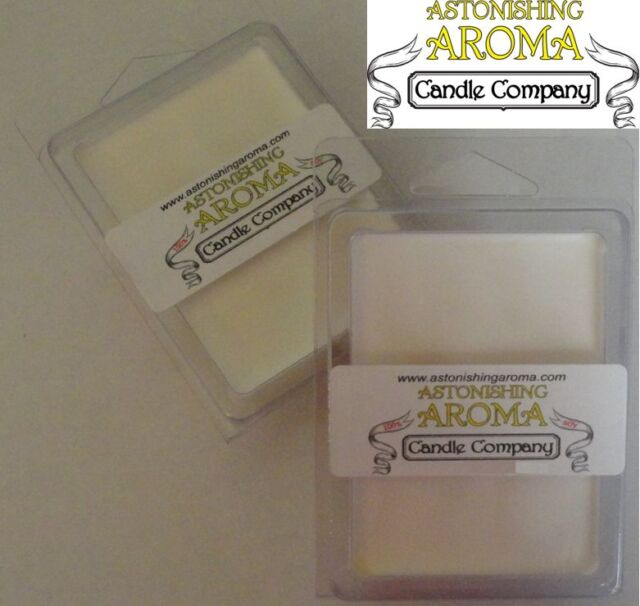 Soy Wax Clamshell Break Away tart melt wickless candle 300+ SCENTS Listing #4