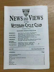 Veteran-Cycle-Club-Actualites-amp-Vues-034-206-Aug-Septembre-1988-S-Revue-Livre