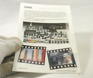 Minolta System Accessories Guide for the Minolta X-series SLR X-700 X-570 370 30