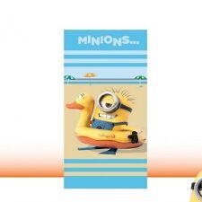 serviette de plage enfant Minions- drap de bain Minions