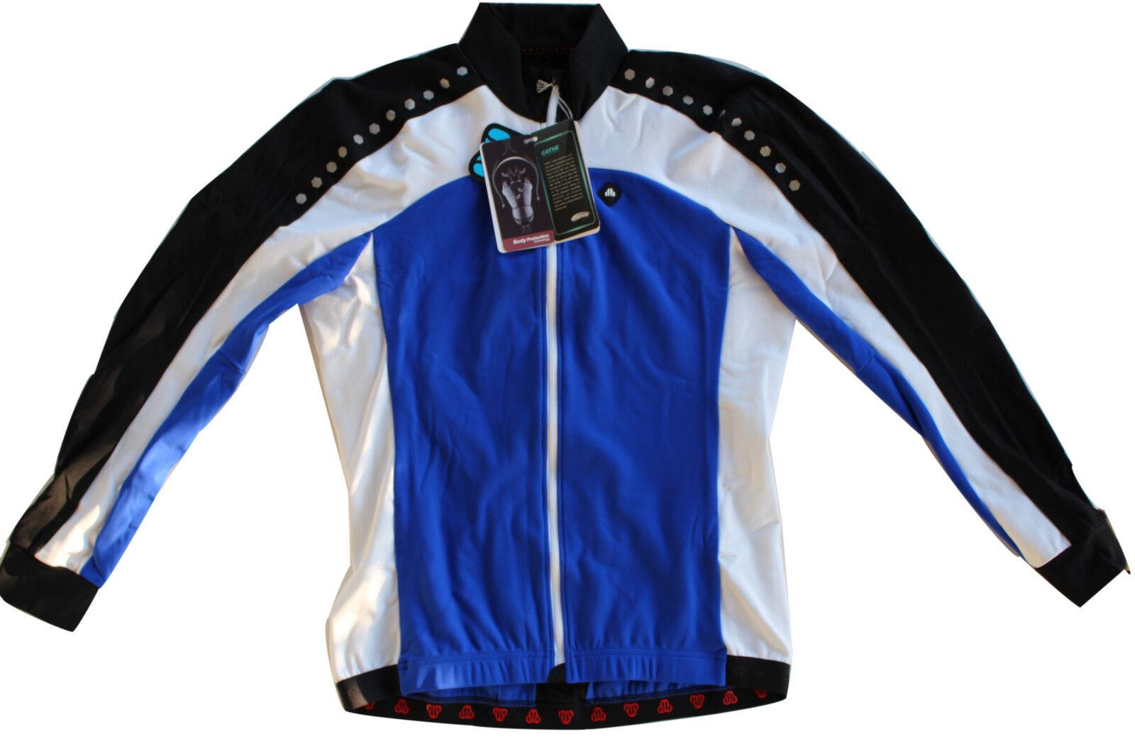 Giubbino bike invernale ciclismo giacca traspirante felpata mtb BICI  Corsa 3XL