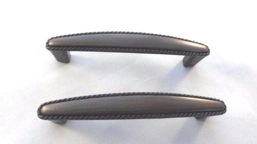 Cabinet Drawer Door Bar Steel Handle Pull knob Hardware Brushed Nickel Black