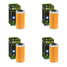 BMW G450 X HIFLOFILTRO OIL FILTER FITS YEARS 2009 TO 2012   HF611 X 4