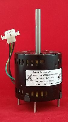 Bathroom Fan Replacement >> BROAN/Nutone S99080485 Replacement Motor JA2Y044N 692620193592 | eBay