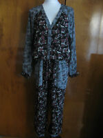 W/tags Free People Women's Rayon Summer Floral Print Jumpsuits Small, Medium
