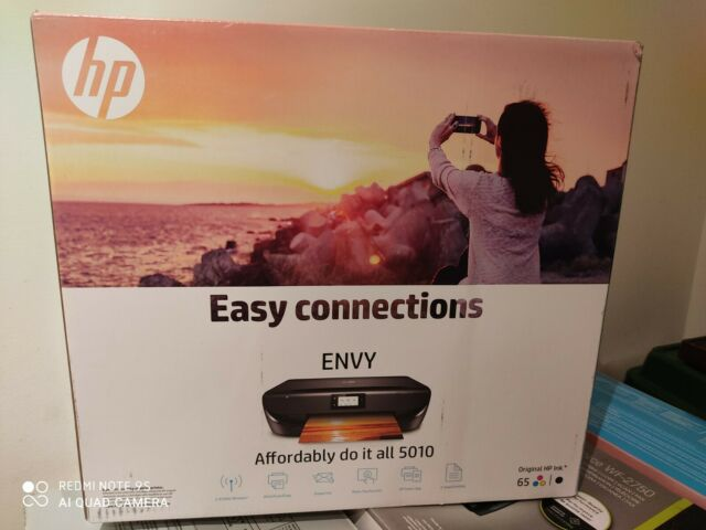 HP Envy 5010 Wireless All-in-One Printer Black - Brand New