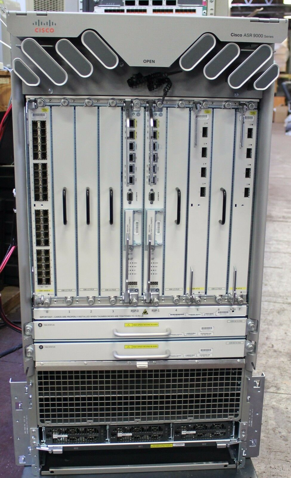 Cisco ASR 9000 Series Asr-9010 Router Mfg 2013