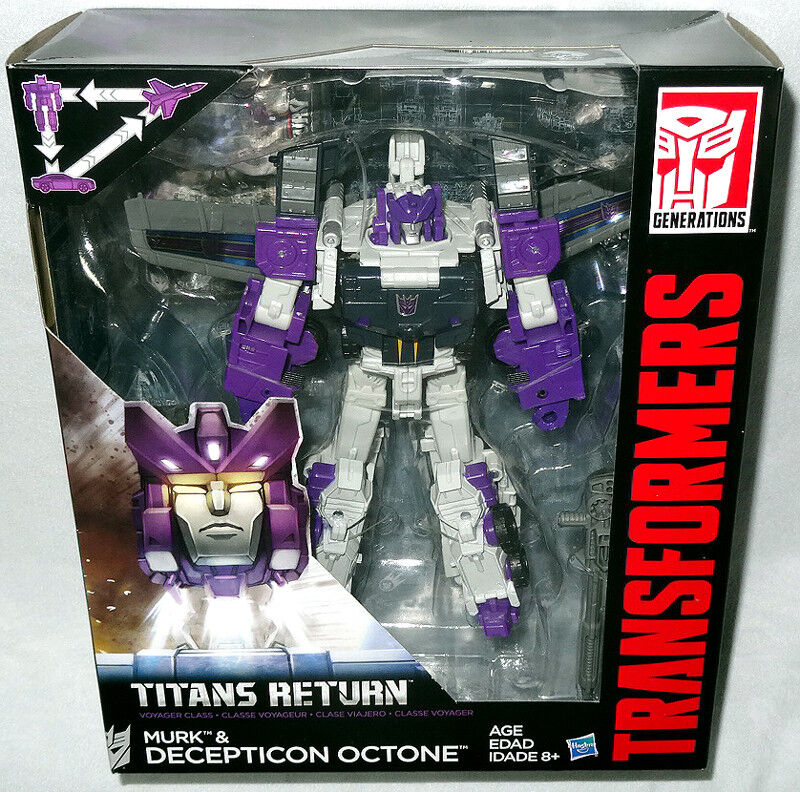 Transformers Generations Titans Return Murk & Octone Action Figure MIB Voyager