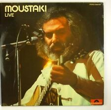 "2 x 12"" LP - Georges Moustaki - Live - B1226 - washed & cleaned"