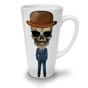 Dead Skeleton Suit NEW White Tea Coffee Latte Mug 12 17 oz   Wellcoda