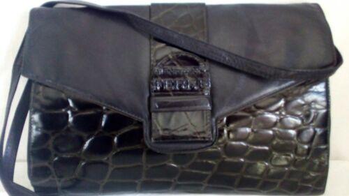Bag Vᄄᆭritable Utilisᄄᆭ Cuir Intᄄᆭrieurcossais Ferre 'Femme Trousse Gianfranco Vintage 6gfb7y