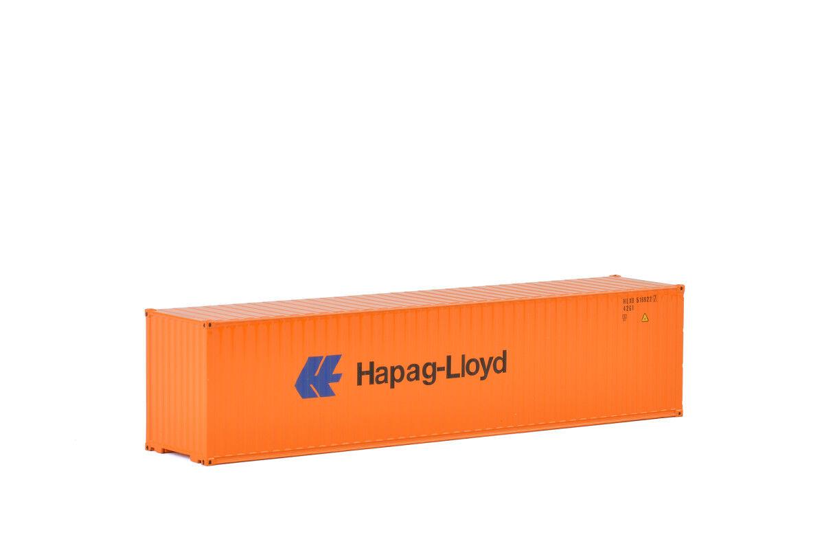 WSI 04-2033 - Hapag-Lloyd contenedor de envío 40' - Línea Premium - 1 50 -  NUEVO