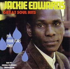 JACKIE EDWARDS - Great Soul Hits - Soul CD