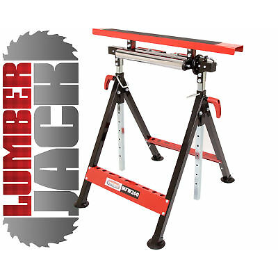 Combi Work Stand Bench Trestle Table Roller Stand Folding