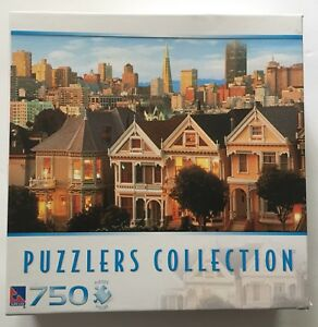 Sure Lox Puzzlers Collection 750 Painted Ladies Puzzle San Francisco
