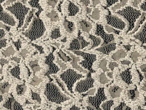 Stoff Spitze Blumenmuster Spitzenstoff Bekleidungsstoffe Deko Stoffe Meterware