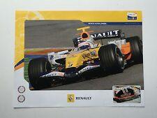RENAULT F1 senza segno POSTER RARA Alonso, Fisichella 1.