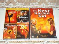 The Karate Kid 1 2 3 4 5 Movie Set Dvd Part I Ii Iii Next And Remake