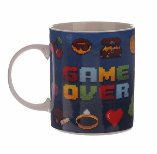 NOVELTY COOL GAME OVER CLASSIC GAMING DESIGN COFFEE MUG TEA CUP