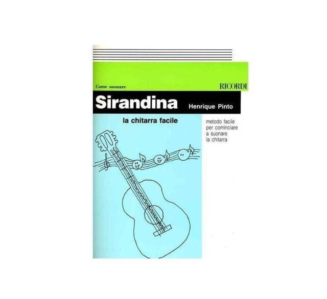 Henrique Pinto Sirandina la chitarra facile Metodo per cominciare a suonare