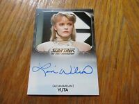 2017 Star Trek 50th Anniversary Lisa Wilcox As Yuta Autograph
