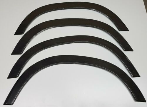 Overlays on fenders Dacia Duster 2010-2018 Black Matt X4 pieces