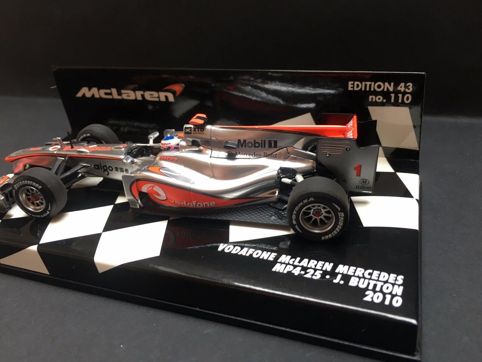 Minichamps - Jenson Button - McLaren - Mp4 25 - - - 2010 -1 43 afd13f
