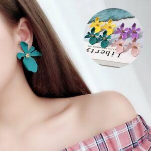 Fashion-Design-Fashion-Summer-Style-Jewelry-Elegant-Flower-Statement-Earring
